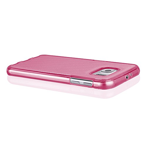 Sehr elegante TPU Schutzhülle für ihr Iphone 6 mit PU-Lederrücken in Gold Pink