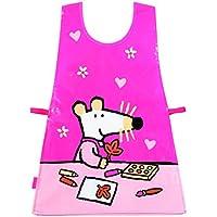 Mausi MM626B - Bata infantil para pintar, color rosa