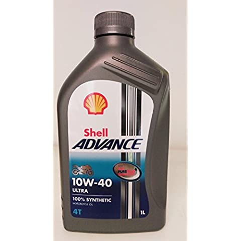 Royal Dutch Shell lubricantes 550044447 Shell Advance 4T Ultra sintética motocicleta aceite,