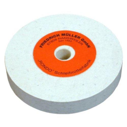 Filzpolierscheibe Bohrung 20mm Wollfilz, Herstellerbestellnummer: 4000843474 -