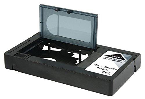 Eurosell VCR VHS-C / VHS -Kassetten-Adapter für Recorder Player ( Achtung - Nicht geeignet für DV video8 , HI8 (Vhs-player-recorder)