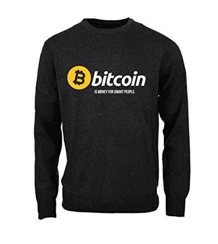 art People Cryptocurrency Btc Ltc Digital Currency Herren Sweatshirt Pullover Schwarz Medium (Girls Tv Online)