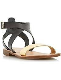 Dune Women's Lotti Leather Fashion Sandals