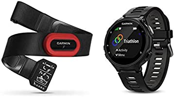 Garmin Forerunner 735XT - Reloj multisport con GPS, tecnología pulsómetro integrado