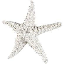 DierCosy Resina Artesanía Estrellas de mar en Forma de decoración de la Pared del Ornamento decoración