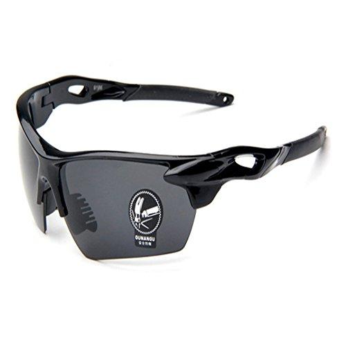 O-C Herren Sonnenbrille, Schwarz