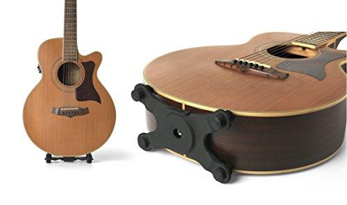 STANDLEY Click Gitarre Ständer für Akustik-Gitarren von Gator Frameworks (gfw-gtrstandley1) (Gitarren Case Für Fender Akustikgitarre)