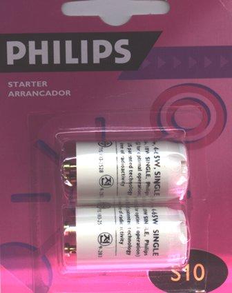 Preisvergleich Produktbild Starter für Leuchtstoffröhre S10 (2 Stück)