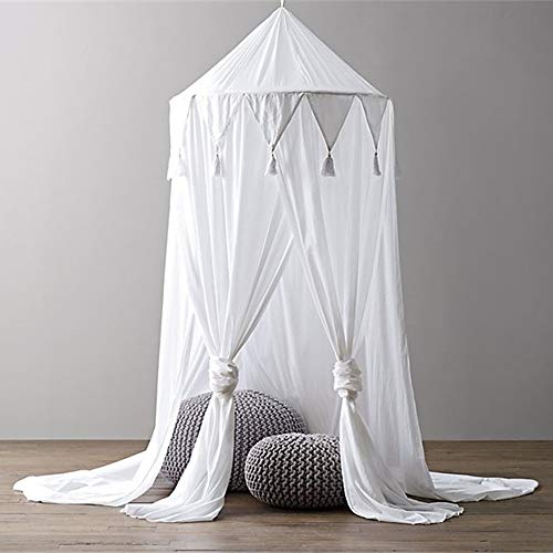 66172809366ee FLORYDAY Letto a baldacchino per bambini baldacchino di letto Zanzariera  cielo di letto Zanzariera decorazione di