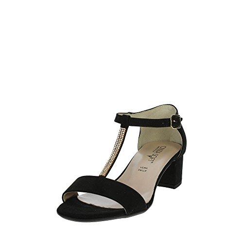 Cinzia Soft 68588 Sandalo Donna Nero