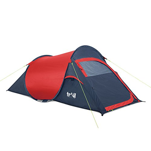 Trail Pop-Up Tent - RedCharcoal