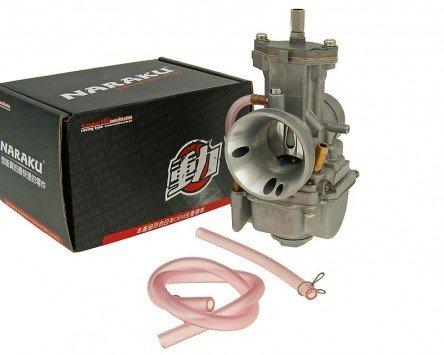 Carburateur à tiroir plat NARAKU Racing V.2 30mm - Yamaha-DT 50 R (89-97) 3MN