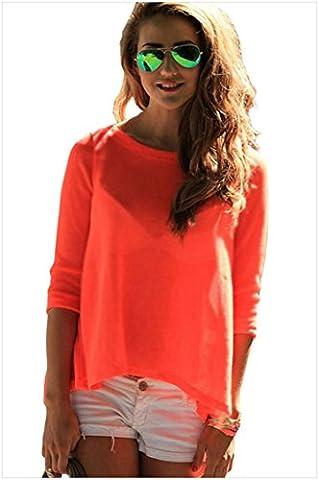 MEINICE - Chemise - Femme - Orange - L