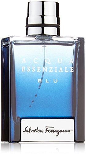 Salvatore Ferragamo Acqua Essenziale Blu 50Ml Spray Eau De Toilette Pour Homme