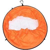 GARNECK Canoa de PVC Kayak Paleta de Viento Cuerpo Sanitario Remos de Viento Levantamiento Instantáneo Tablero de Viento Canoa Portátil Accesorios de Kayak para Uso de Kayak (Naranja)