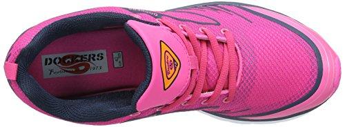Dockers by Gerli Damen 38mu202-780771 Sneakers Pink (pink/schwarz 771)