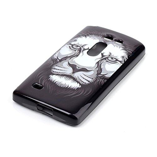 Voguecase® für Apple iPhone 5C, Schutzhülle / Case / Cover / Hülle / Ultra Slim Fit TPU Gel Skin (Kleine Gänseblümchen 05) + Gratis Universal Eingabestift weißer Löwe