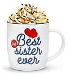 Gifffted Tazza da tè E Caffe per Grande Sorella, Idee Regalo di Compleanno per Sorelle Maggiore,...