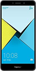 Honor 6X Smartphone (13,97 cm (5,5 Zoll) Full HD Display, 32 GB Speicher, Android) grau