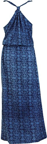 Guru-Shop -  Vestito  - Donna Blau