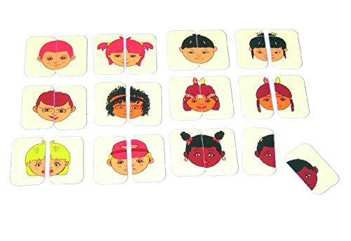 Henbea - Caras de niños en simetría (835)