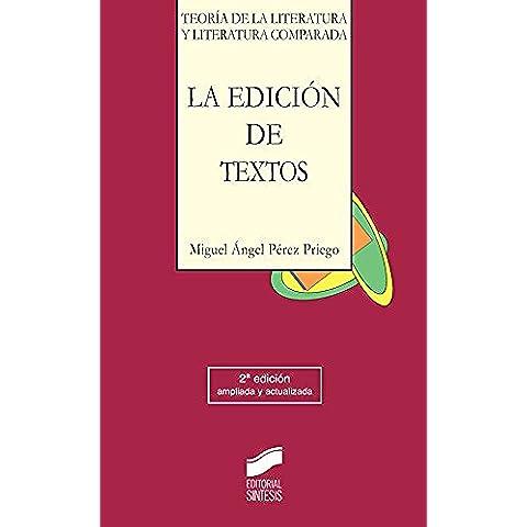 La edición de textos (2.ª edición)