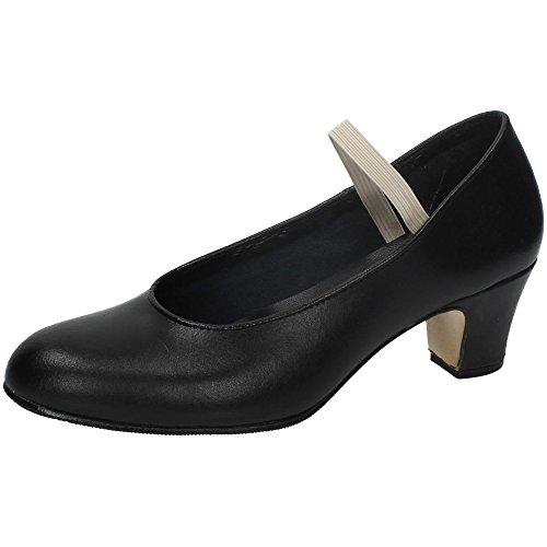 ZAPATOP 251534 Zapato Flamenco Piel Niña Zapatos