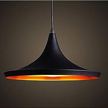 Retro Vintage Pendant Light Shades Contemporary Pendant Ceiling Light Black  Metal Ceiling Lighting E27 Light Lamp