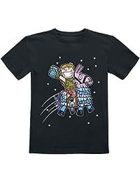 T-shirt Logo Dj Marshmello Taglie Bambino E Adulto Fortnite Bianca O Nera Abbigliamento E Accessori