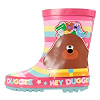 Hey Duggee Girls Rubber Wellingtons