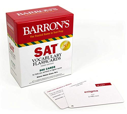 SAT Vocabulary Flashcards (Barron's Test Prep)