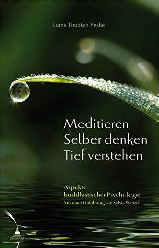 Meditieren. Selber denken. Tief verstehen: Aspekte buddhistischer Psychologie