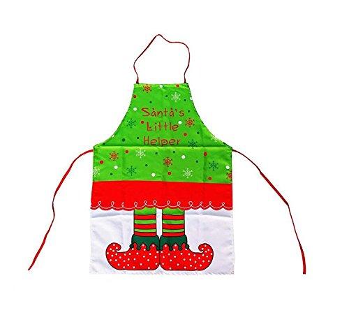Fengh cute Elf modello da donna carino grembiule da cucina decorazione natalizia
