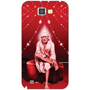 Printland Sai Baba Phone Cover For Samsung Galaxy Note 2 N7100