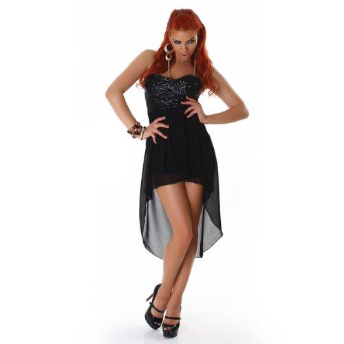 JELA London – La mini robe avec des paillettes (2130) Noir