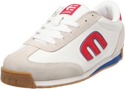 Etnies Lo-Cut II LS, Chaussures de skate homme - Blanc/bleu/rouge, 44 EU