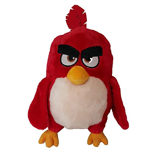 Red Roter Vogel 30cm Angry Birds Film Plüsch Spiel Verärgerte Vögel Stofftier Weich Red Plush Plüschtier -