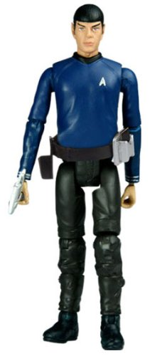 Star Trek - Galaxy Series 3.75 Inch : Action Figure #07 - Spock (Enterprise Outfit) Hot Toys Star (Spock Outfit)