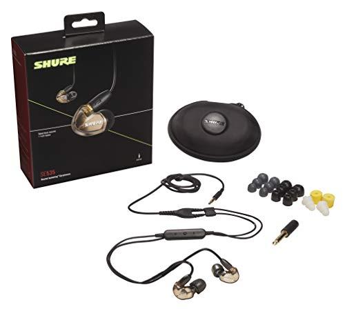 Shure SE535 In Ear Kopfhörer mit Sound Isolating Technologie, 3, 5-mm-Kabel, Fernbedienung und Mikrofon - Premium Ohrhörer mit warmem & detailreichem Klang - Bronze - 2