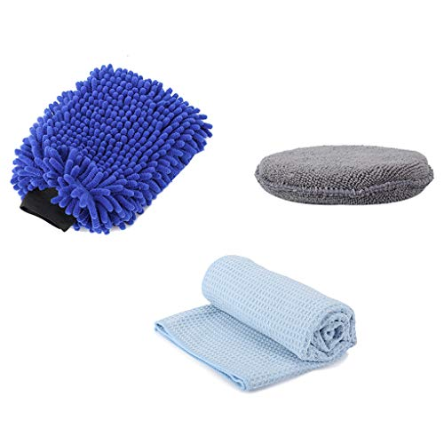Security & Protection New Arrivals Soft Washer Brush Car Motorcycle Furniture Wash Cleaning Mitten Glove Cleaning Tools Workplace Safety Accessories Great Varieties