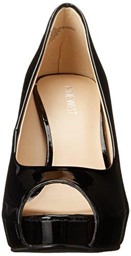 Nine West Qtpie Faux-cuir Pompe vestimentaire Black Synthetic