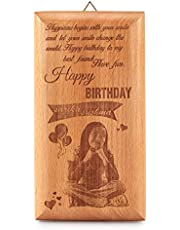 Presto Birthday Gift Love Gift Corporate Gift Wooden Photo Frame by Engraving Process