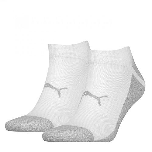 PUMA Unisex Sneaker Multi-Sport 4er Pack, Größe:43-46, Farbe:White / Grey (062)