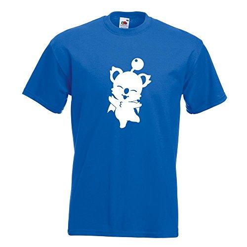 KIWISTAR - Kupo - Mog - Nuts T-Shirt in 15 verschiedenen Farben - Herren Funshirt bedruckt Design Sprüche Spruch Motive Oberteil Baumwolle Print Größe S M L XL XXL Royal