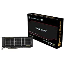 Gainward GeForce GTX580 Phantom Grafikkarte (PCI-e, 1536MB, GDDR5 Speicher, Dual-DVI, Mini-HDMI)
