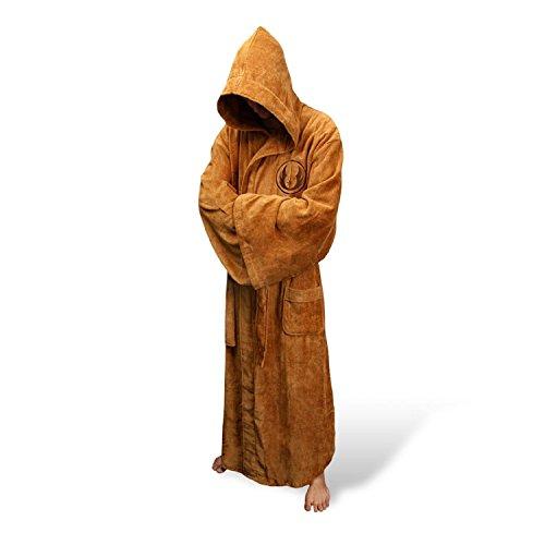 Ziho Jedi Star Wars para hombre albornoz de forro polar albornoz
