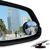 Blind Spot Mirrors, Ankier Round Shape Wide Angle Car Wing Mirror Blind Spot