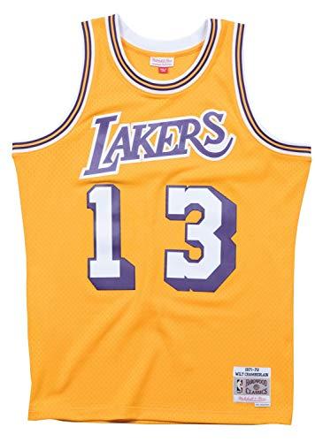 t Chamberlain Los Angeles Lakers Swingman Jersey, Herren, Gelb, X-Large ()