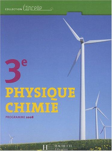 Physique Chimie 3e : Programme 2008
