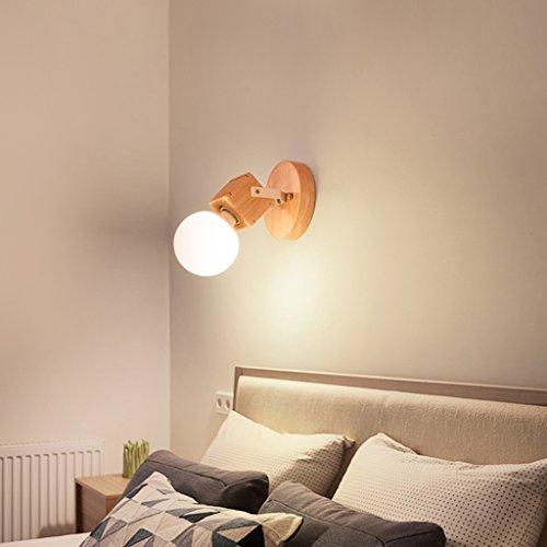 Met Love Schlafzimmer-einzelne Kopfteil-Wand-Lampen-moderner unbedeutender Balkon-Badezimmer-Eitelkeits-Spiegel-Front-Scheinwerfer E27 (Einzelne-badezimmer-eitelkeit)